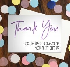Thank You - Purple