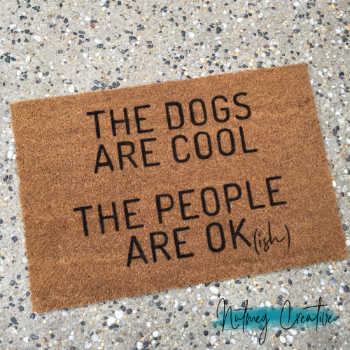 POA <br>Custom hand painted doormat