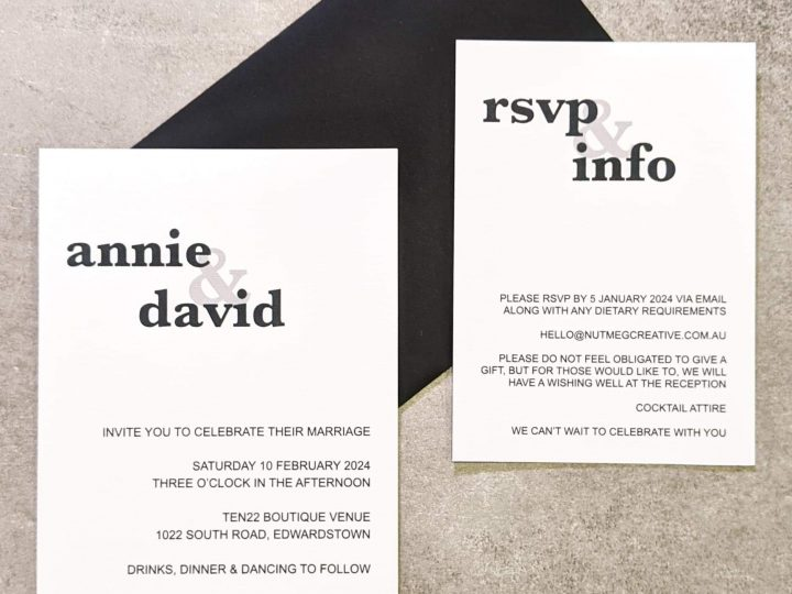 The Nutmeg Guide to Wedding Invitation Structure
