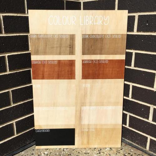 Custom Wood Stain Examples